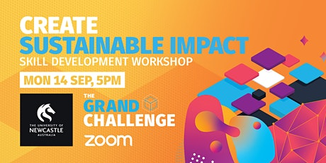 Grand Challenge Workshop: Create Sustainable Impact tickets