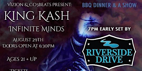 Dinner And a Show w/ Riverside Drive  (7pm) - PLUS  A Hip-Hop After party!! tickets