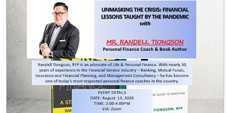 UNMASKING THE CRISIS: FINANCIAL LESSONS TAUGHT BY THE PANDEMIC tickets