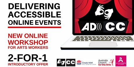 Delivering Accessible Online Events Workshop 7 Oct 2020 tickets