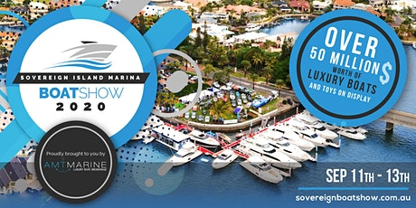 Sovereign Island Marina Boat Show 2020 tickets