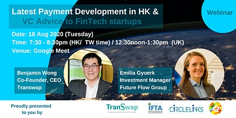 [Fintech] Payment Development and VC advice to Fintech Startups tickets