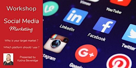 Online Workshop: Successful Social Media Marketing tickets