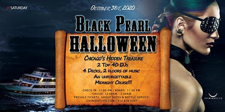 Chicago Halloween Black Pearl - Pier Pressure  Yacht Party tickets
