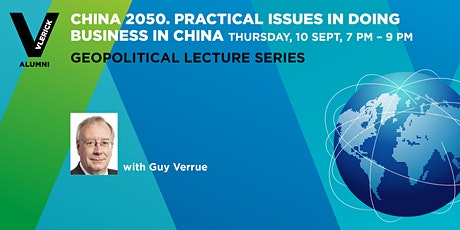 Vlerick Alumni- China 2050. Practical issues with doing business in China. tickets
