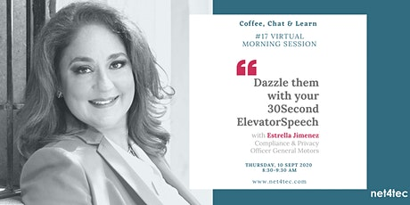 Dazzle Them with your 30-second Elevator Speech tickets