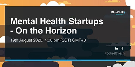 Mental Health Startups - On the Horizon tickets