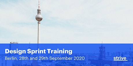 Strive Design Sprint Training Berlin (2 days, English) tickets
