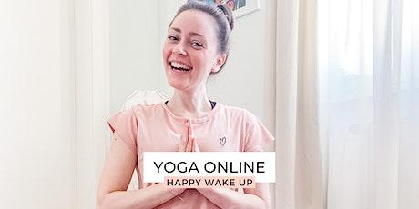 YOGA online - HAPPY WAKE UP Tickets