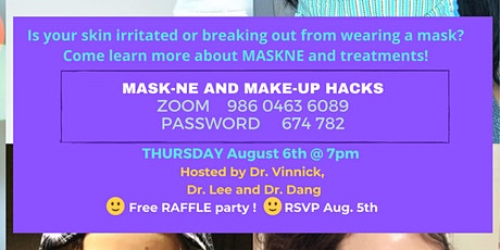 MaskNE- everyone is prone to this; learn how to prevent and treat it. tickets