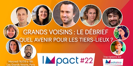 Événement exceptionnel : Quel avenir pour les tiers-lieux en France ? tickets