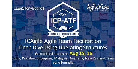 ICAgile Agile Team Facilitation (ICP-ATF) Certification tickets