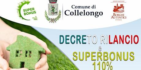 Decreto Rilancio e Superbonus 110% biglietti