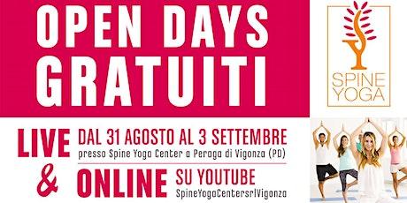 Open Days Gratuiti Live & Online biglietti