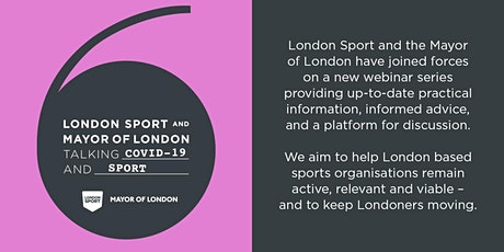 Talking Covid-19 & Sport: Socially Distant Sport Pilot tickets