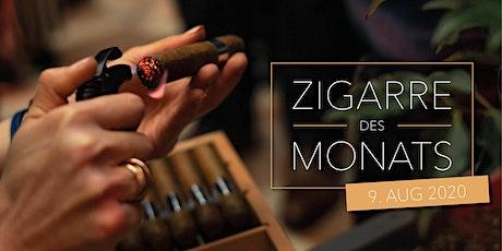 Zigarre des Monats - August Tickets