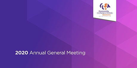 CCSA 2020 Annual General Meeting tickets
