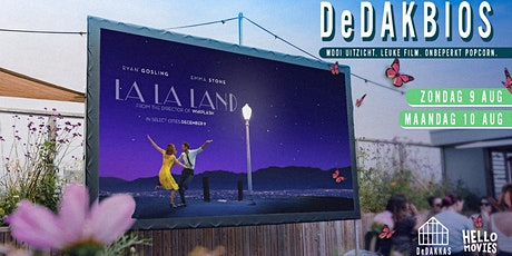 DeDAKBIOS: Film op het dak! | La La Land (UITVERKOCHT) tickets