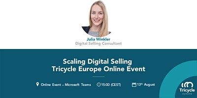 Online Webinar Scaling Digital Selling