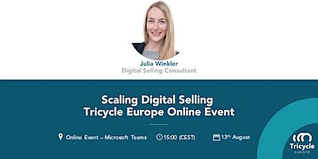 Online Webinar Scaling Digital Selling tickets