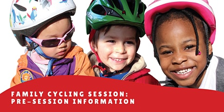 Wheely Tots Family Cycling Session: pre-session information tickets
