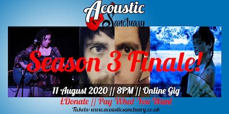 Acoustic Sanctuary, Season 3 Finale! Tim O'Connor // Erawan // Lauren Rich tickets