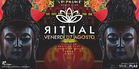 07.08 - RITUAL ~ Ethnic vibes @ Le Palme Beach  biglietti
