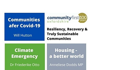Resiliency, Recovery and Truly Sustainable Communities tickets