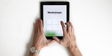 Digitale Workshops Tickets
