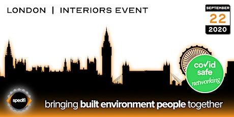 Specifi London 2 - INTERIORS EVENT tickets