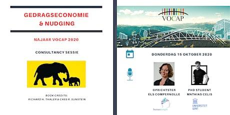 VOCAP Reeks Gedragseconomie & Nudging | Deel 2: Consultancy Sessie tickets