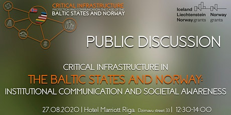 Critical Infrastructure in the Baltic States and Norway tickets