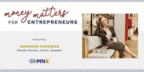 Money Matters for Entrepreneurs tickets