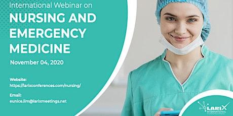 International Webinar on Nursing and Emergency Medicine tickets