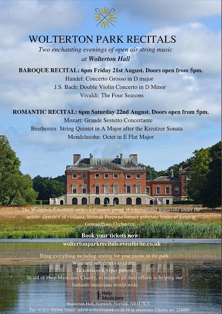 Wolterton Park Recitals image