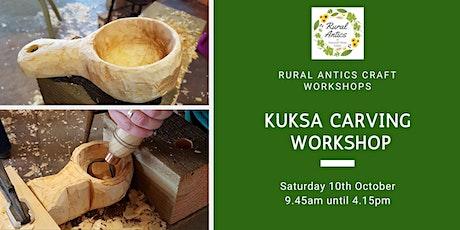 Kuksa Carving Workshop tickets