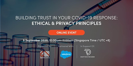 Building Trust in Your COVID-19 Response: Ethical and Privacy Principles tickets