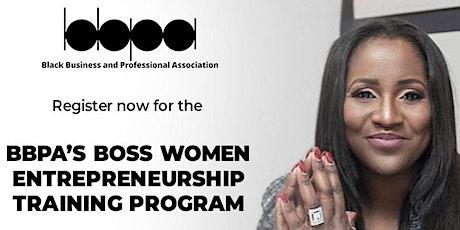 BBPA Boss Women Entrepreneurship Training Program tickets