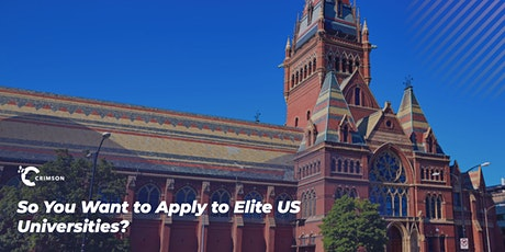 So You Want to Apply to Elite US Universities? tickets