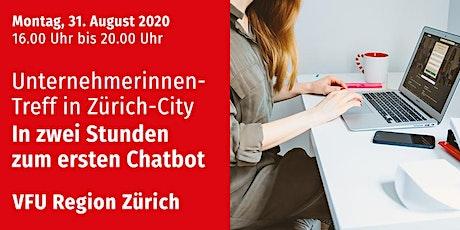 Unternehmerinnen-Treff, Zürich-City, 31.08.2020 Tickets