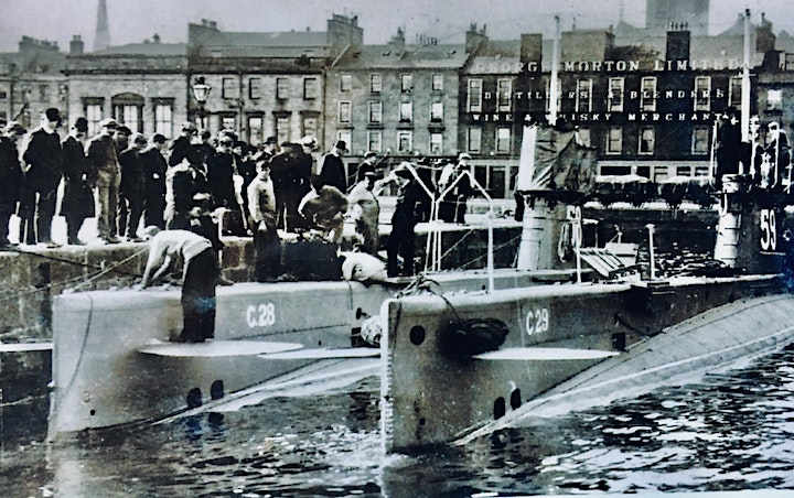 Dundee Waterfront Walks-guided  wartime history   on Dundee waterfront. image