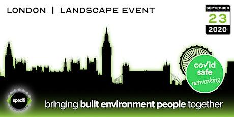 Specifi London 2 - LANDSCAPE EVENT tickets