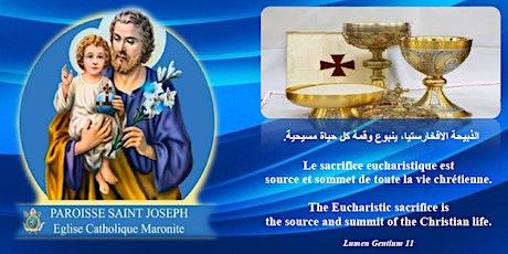 Messes à la paroisse St-Joseph tickets