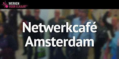 Netwerkcafé Amsterdam: Op naar je volgende stap! tickets