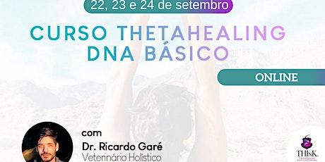 Curso Online Formação ThetaHealing DNA Básico - 22, 23 e 24 de setembro ingressos