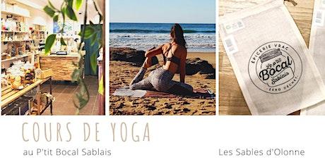 Cours de Yoga Vinyasa billets