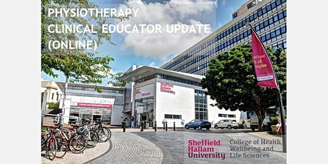 PHYSIOTHERAPY CLINICAL EDUCATOR UPDATE (ONLINE) tickets