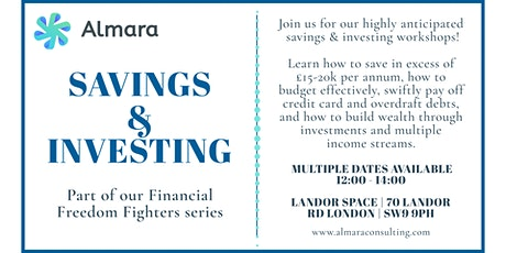 Financial Freedom Fighters - Savings & Investing tickets