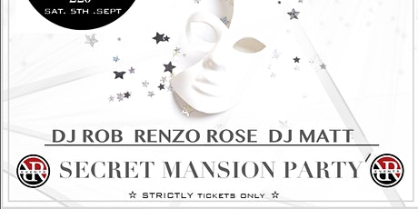SECRET MANSION PARTY tickets