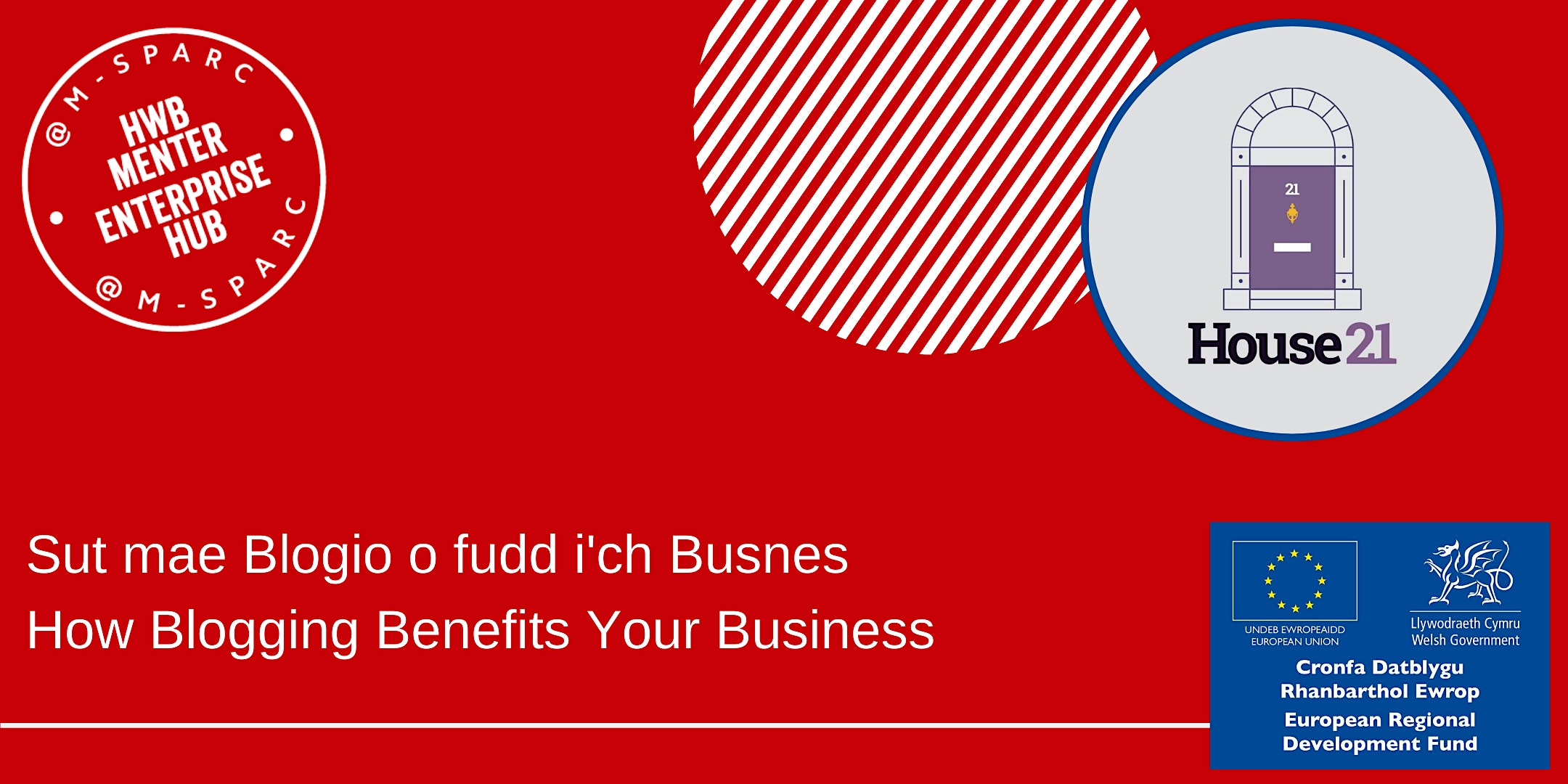 Sut mae Blogio o fudd i'ch Busnes/How Blogging Benefits Your Business